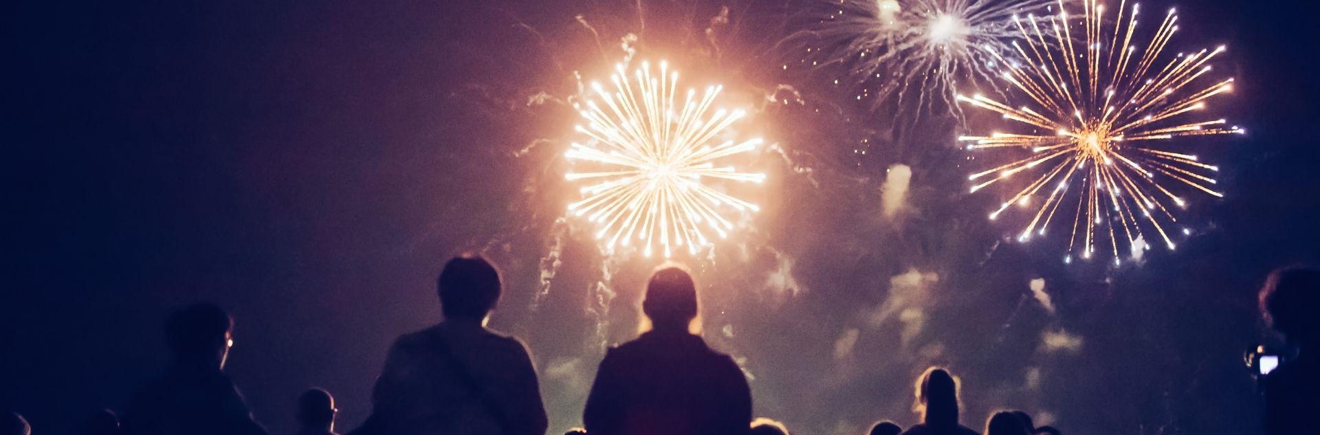 Silvesterurlaub - Feuerwerk