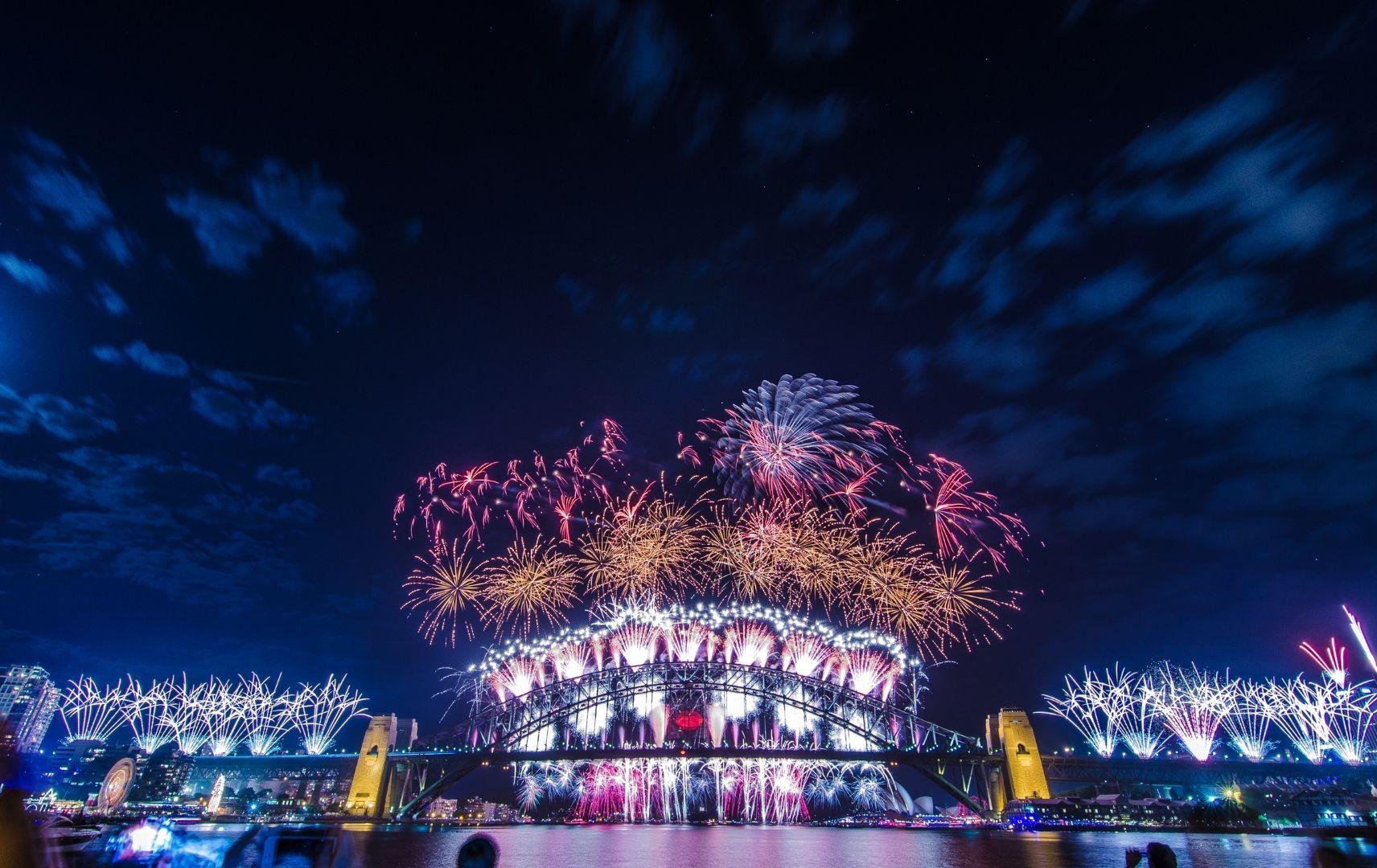 Silvesterurlaub - Sydney Feuerwerk