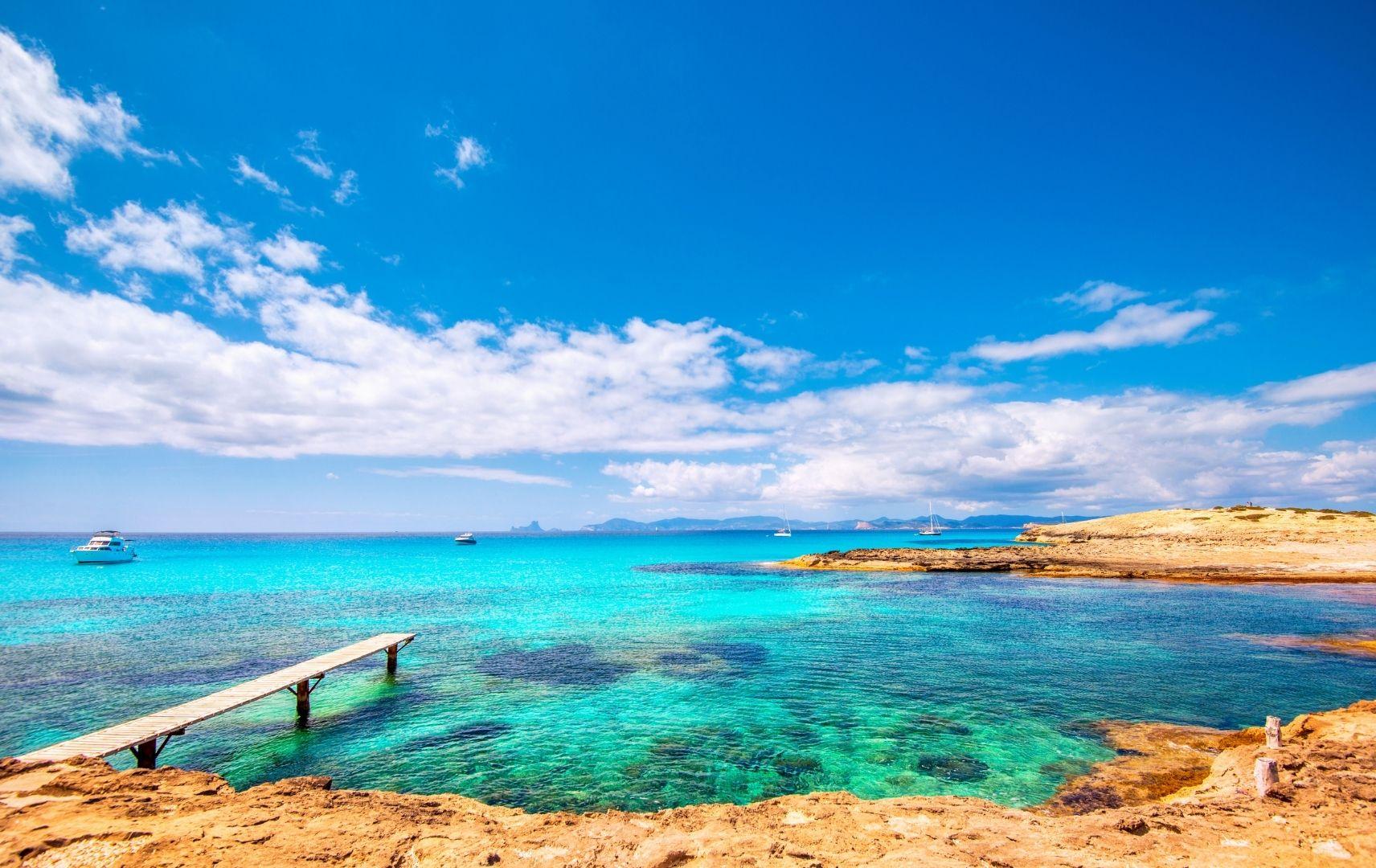 Spanien, Formentera - Playa de ses Illetes