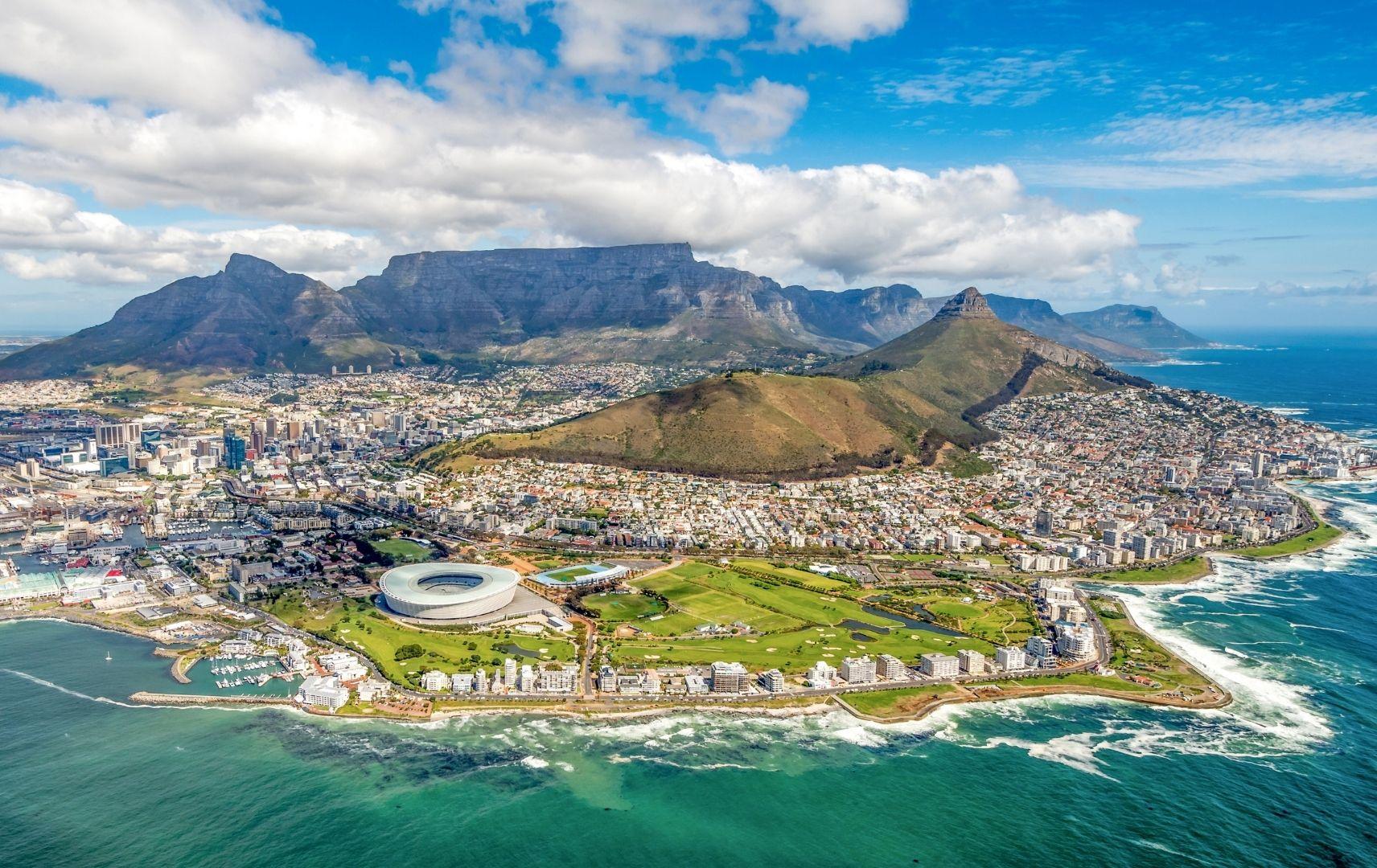 Kapstadt und 12 Apostel Südafrika