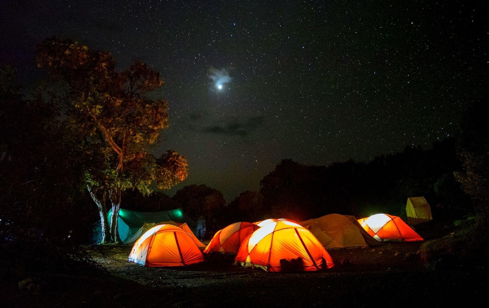 Kilimanjaro Wanderer Tansania