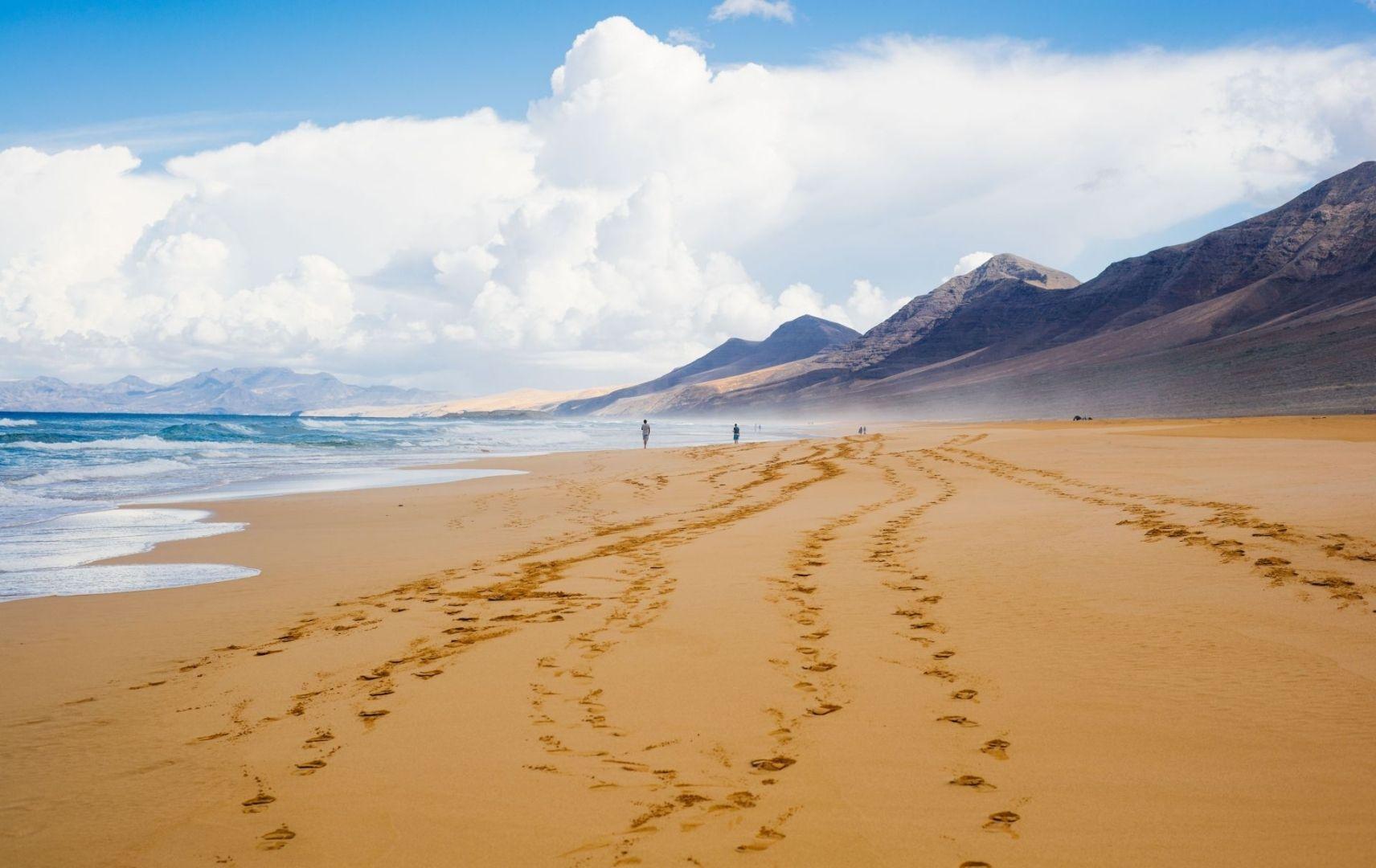Kanaren- Fuerteventura Strand