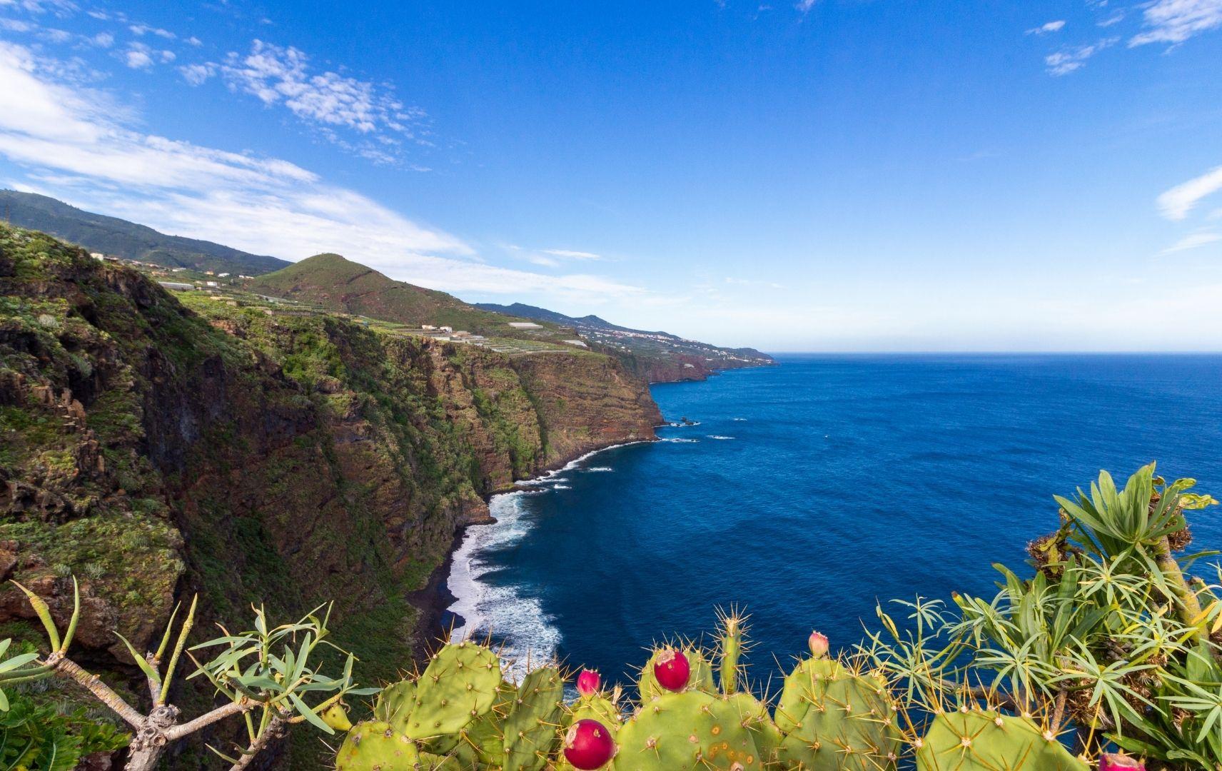 Kanaren - La Palma, Berg und Meer