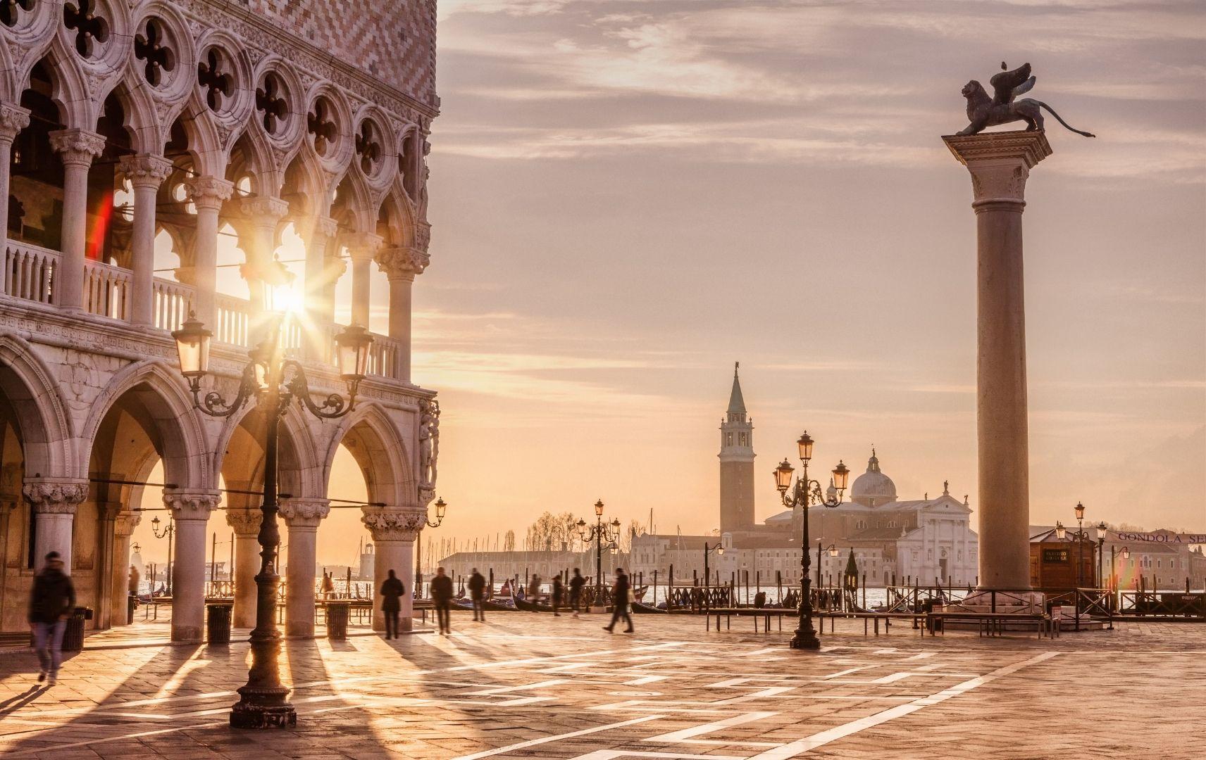 Italien - Venedig, Markusplatz