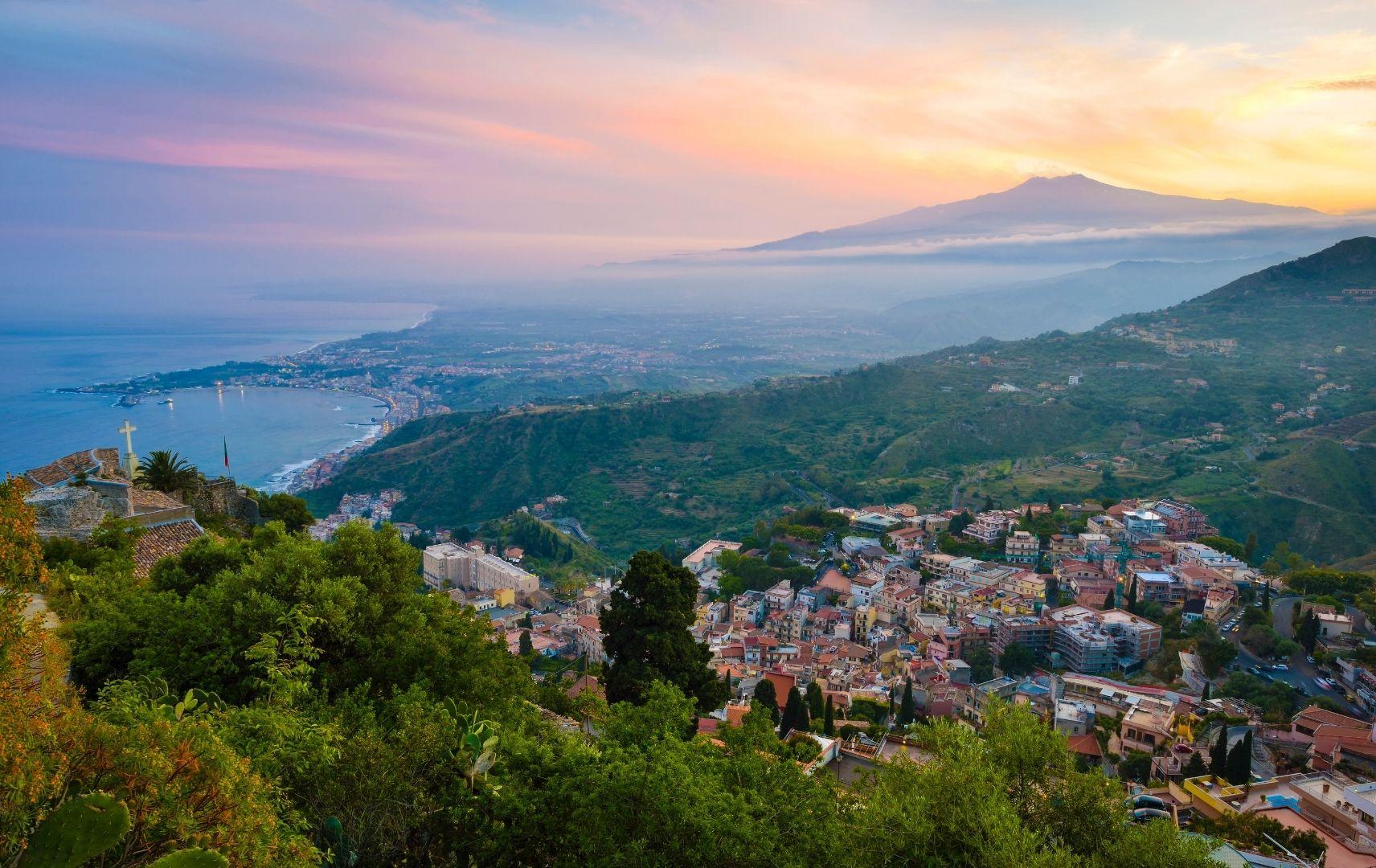 Italien - Sizilien Landschaft