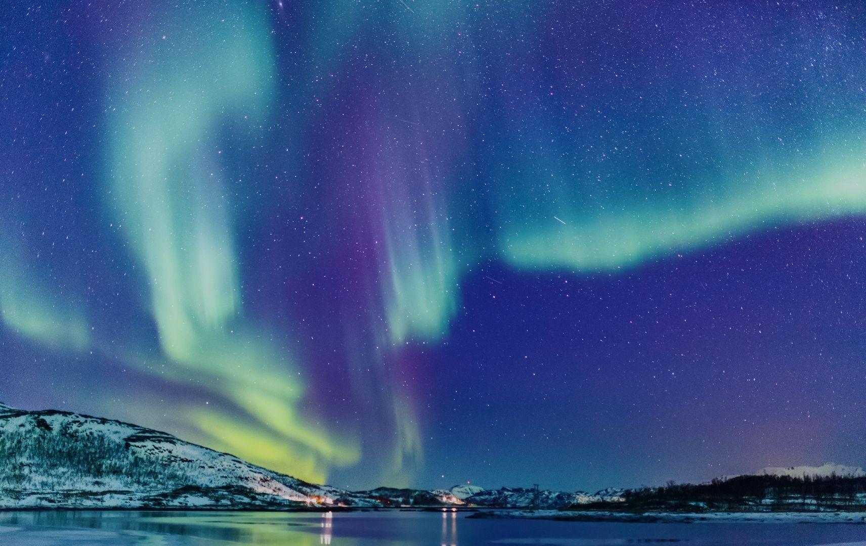 Lappland - Polarlichter