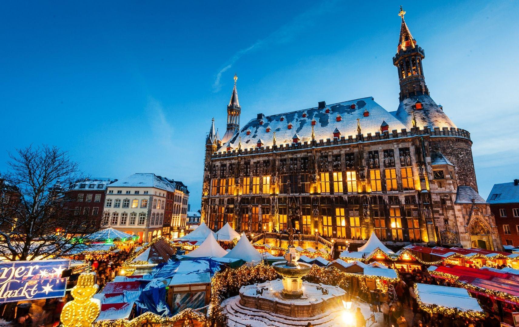 Weihnachten - Weihnachtsmarkt Aachen