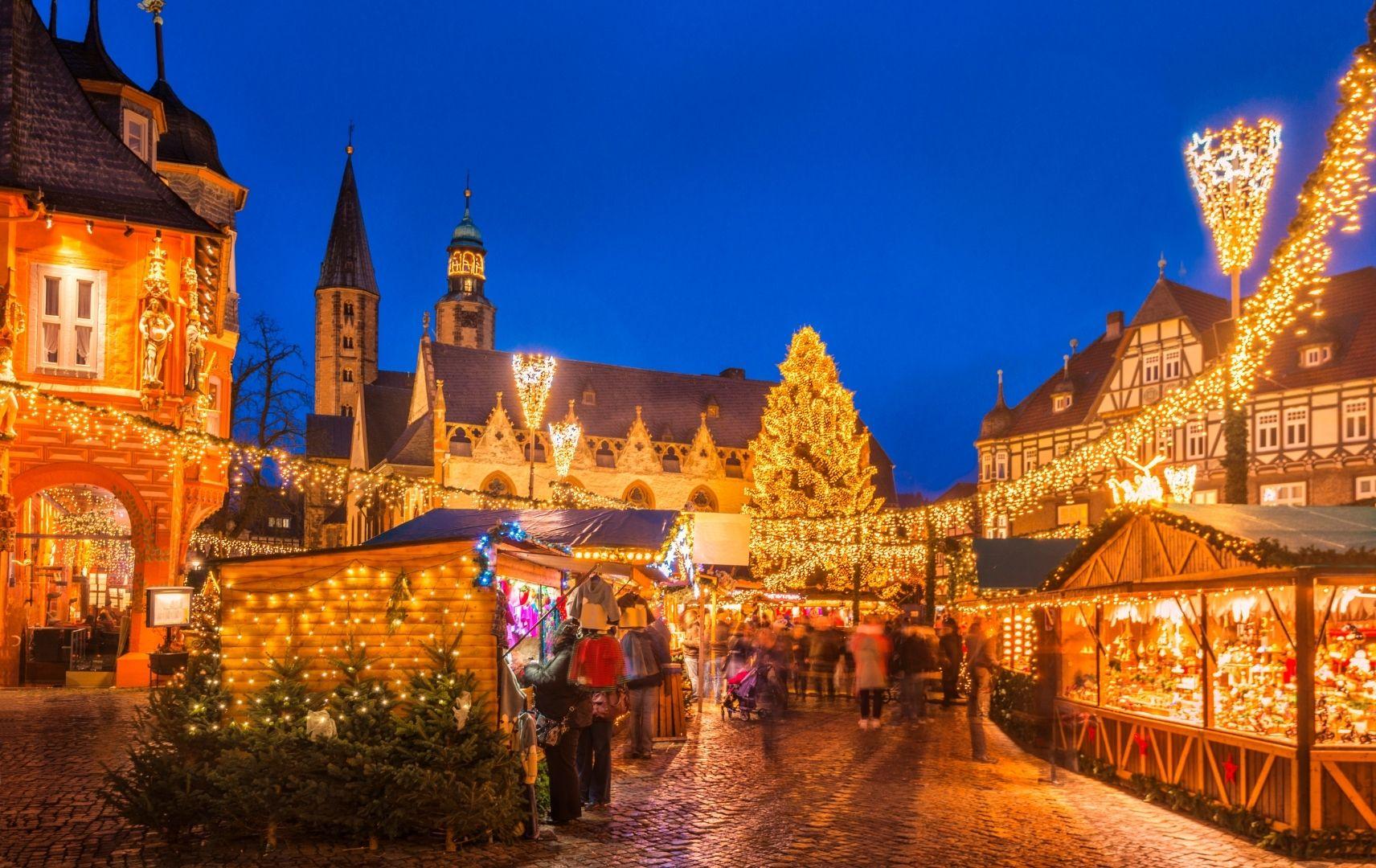 Weihnachten - Weihnachtsmarkt Goslar