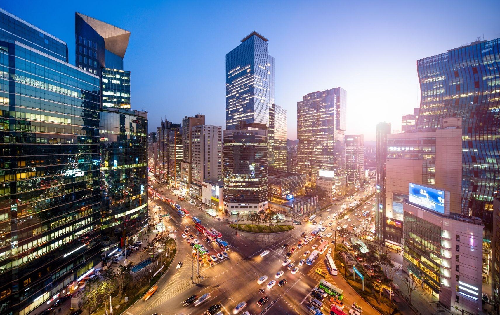 Gangnam business district, Seoul