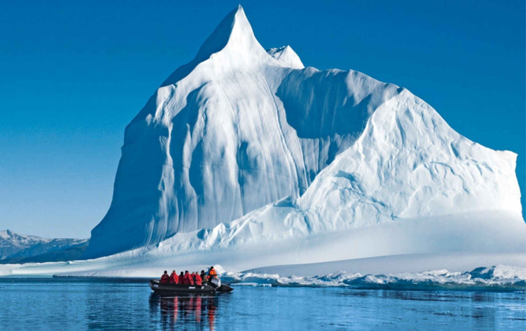 Antarktis Ausflug Eisberg Reiseart Reisebericht