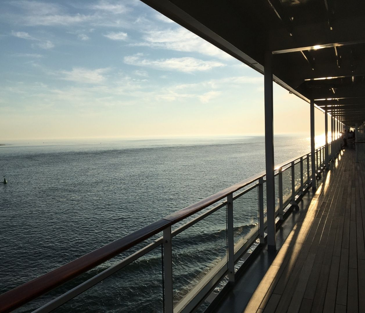 Aussicht auf das Meer von der MS EUROPA 2