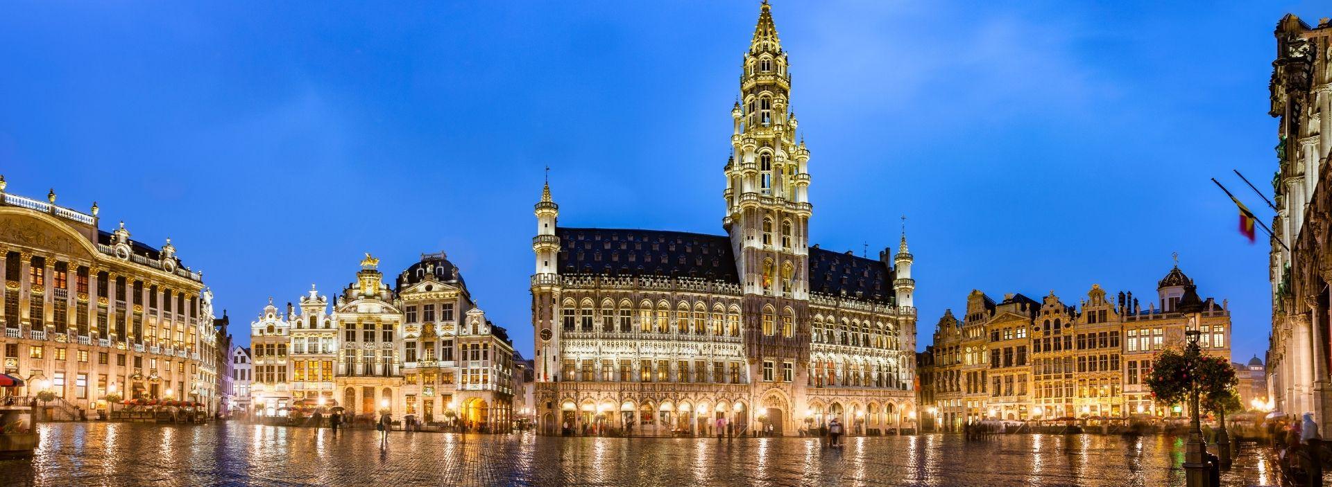 Brüssel bei nacht