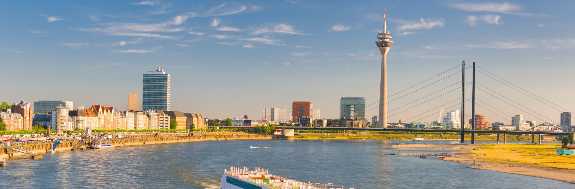 Stadtansicht Düsseldorf - Reisebüro Düsseldorf