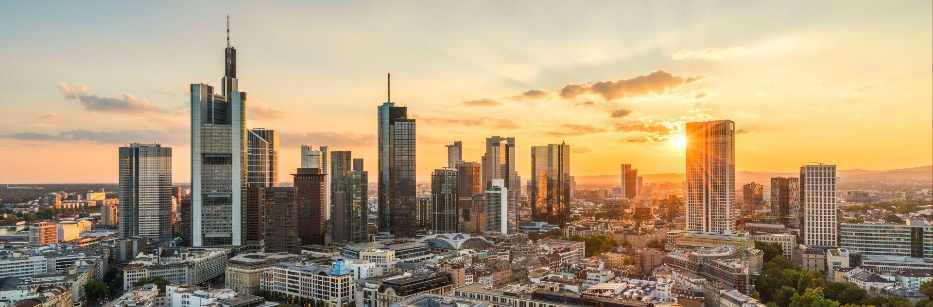 Stadtansicht Frankfurt - Reisebüro Frankfurt