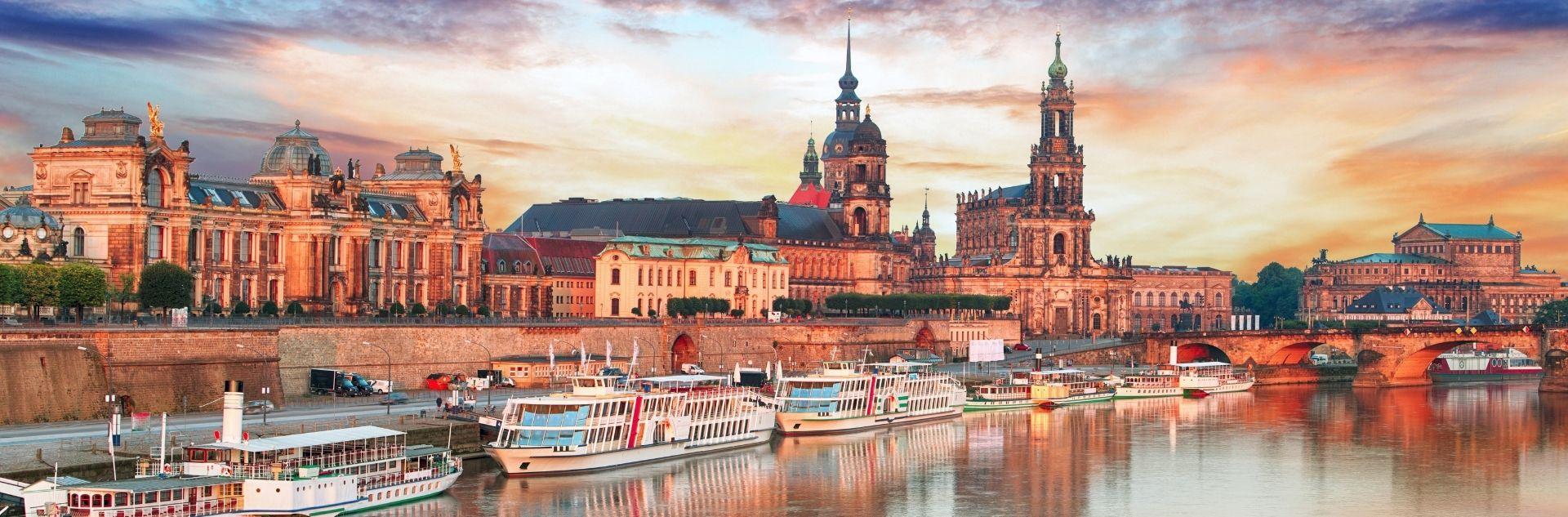 Geschäftreise planen - Dresden Skyline