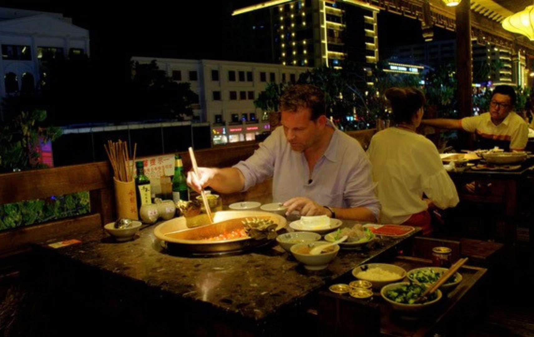 Hainan Hot Pot Abendessen