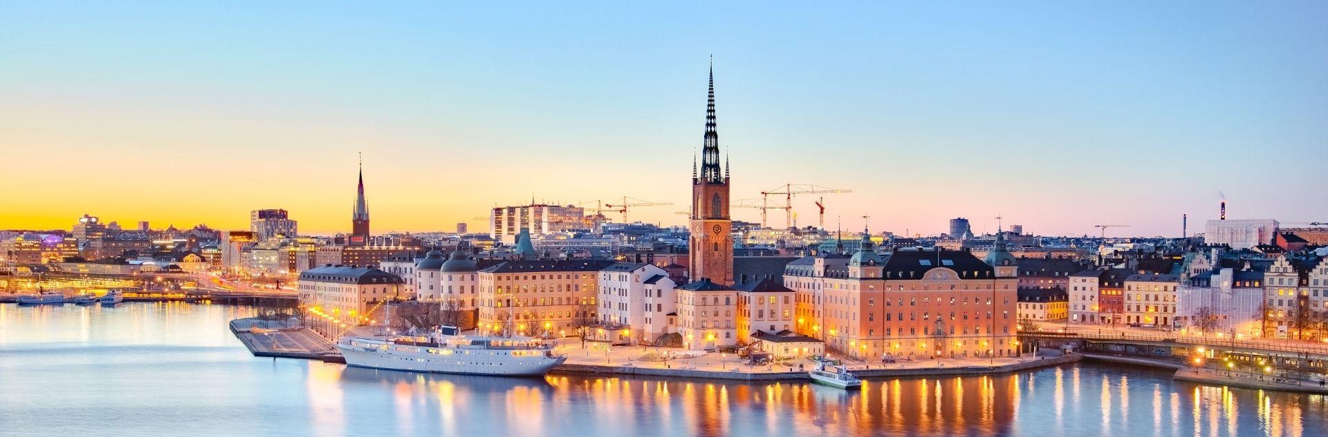Stockholm Abendstimmung