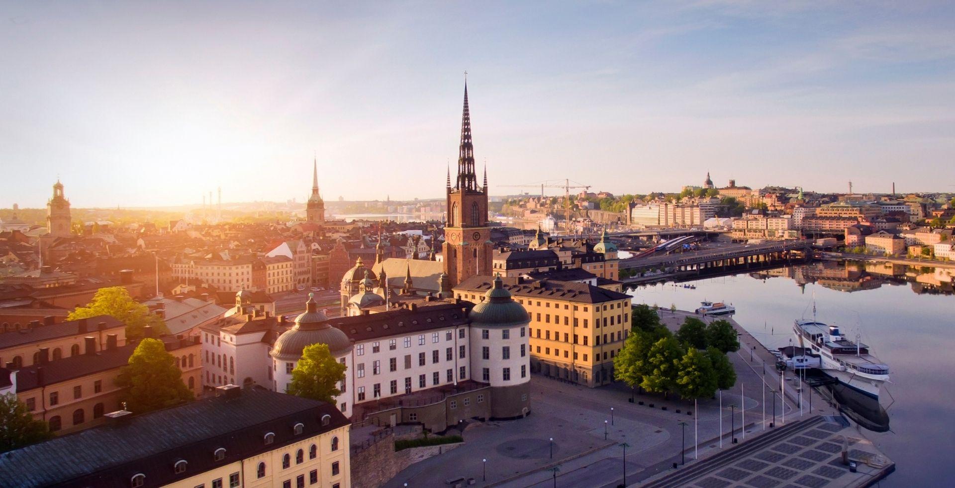 Stadtbild Stockholm