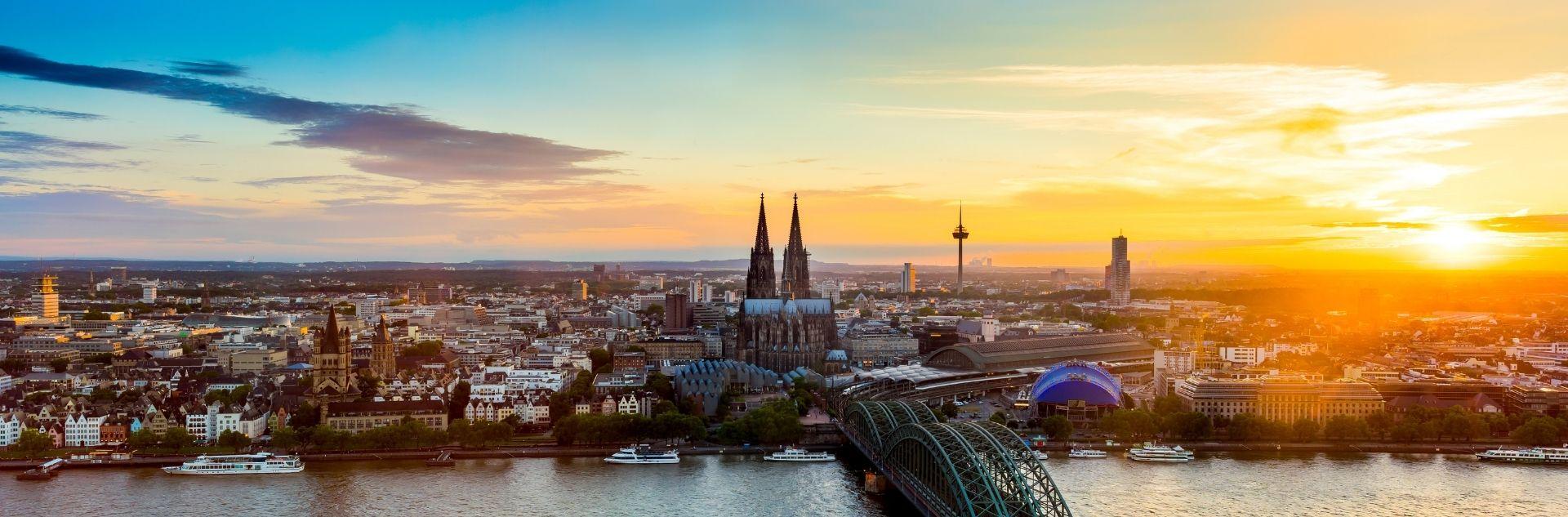Stadtansicht Köln - Reisebüro Köln