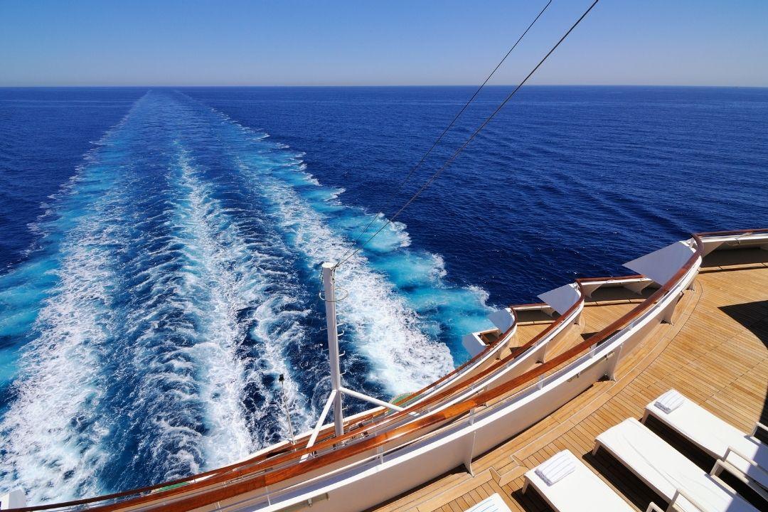 Kreuzfahrt Eindrücke erleben: Blick aufs Meer