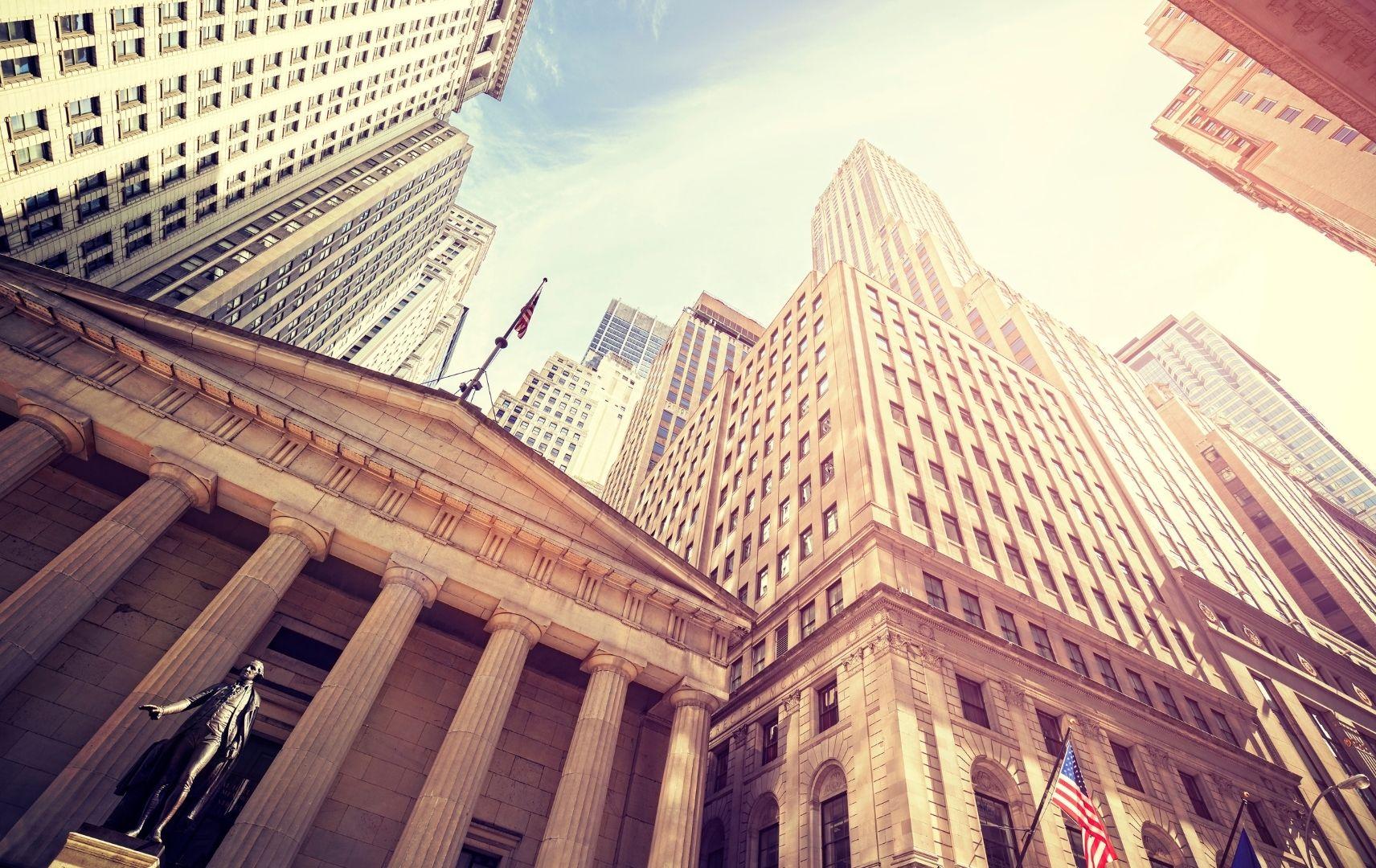New York Wall Street Hochhäuser