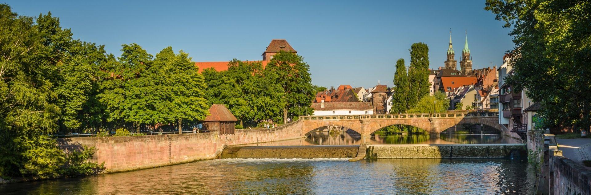 Stadtansicht Nürnberg - Reisebüro Nürnberg