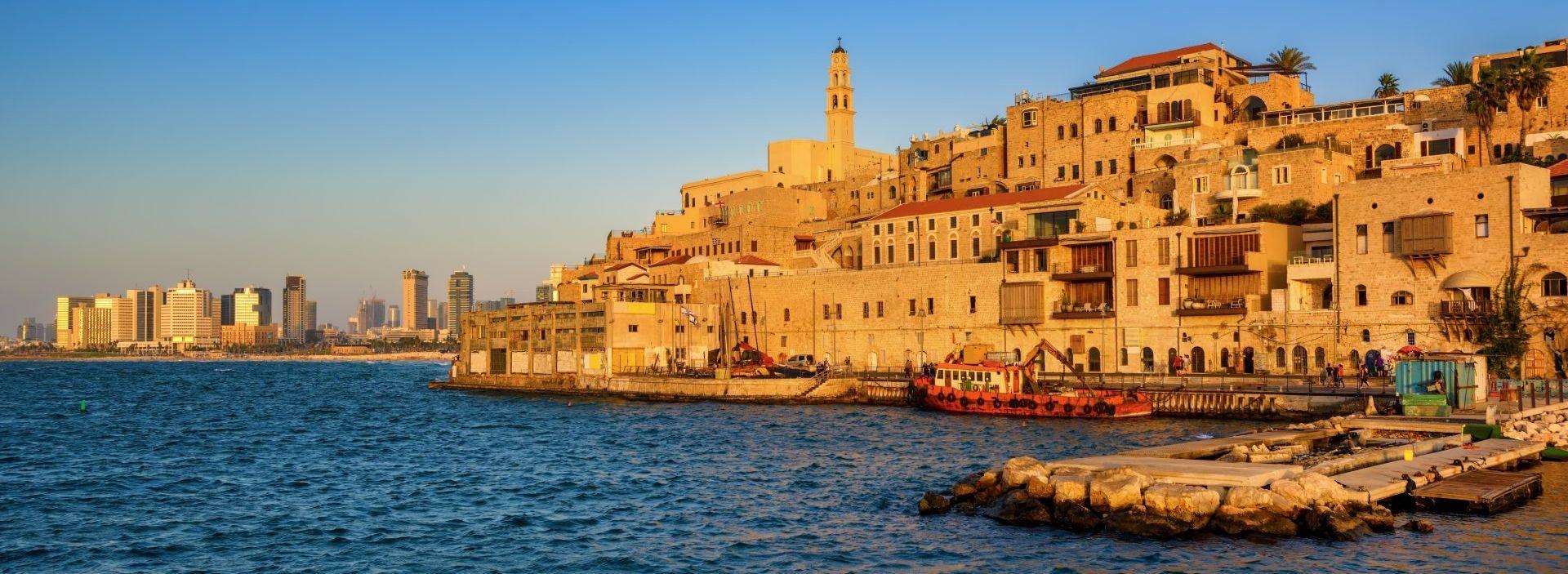 Skyline Jaffa Altstadt und Tel Aviv