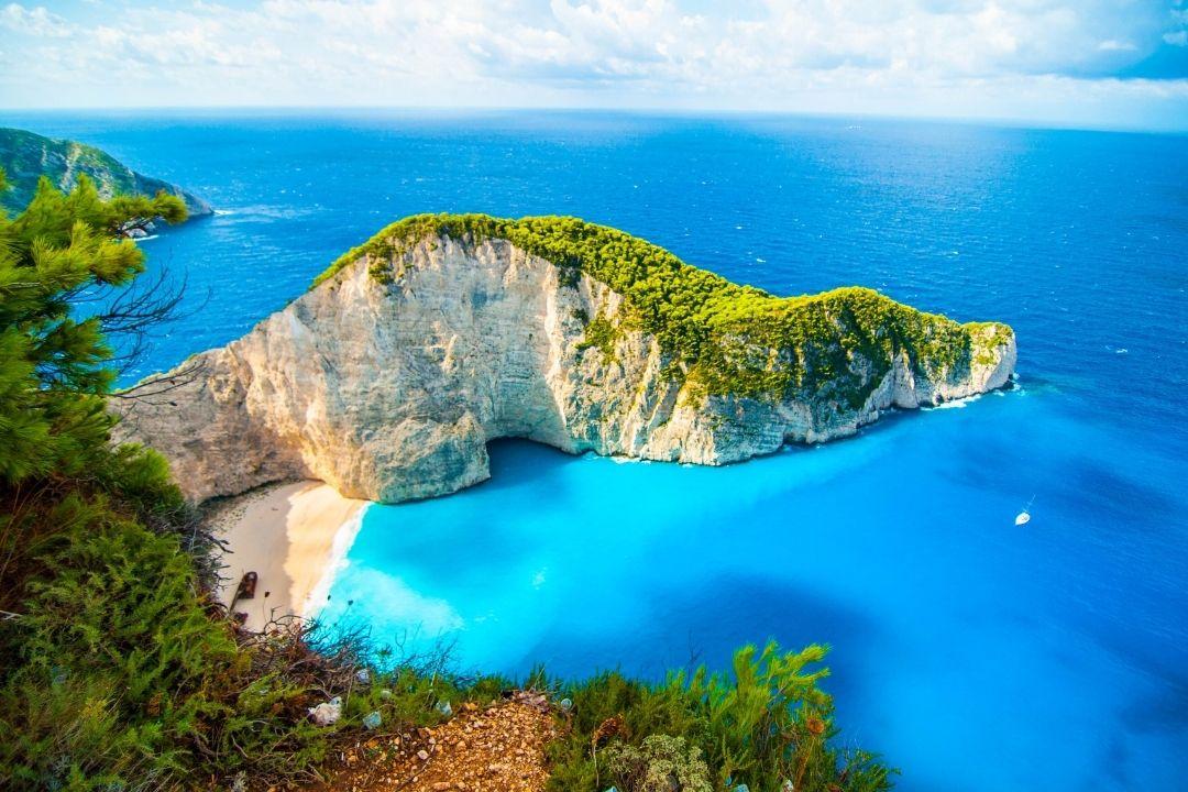 Traumhafte Mittelmeer Bucht