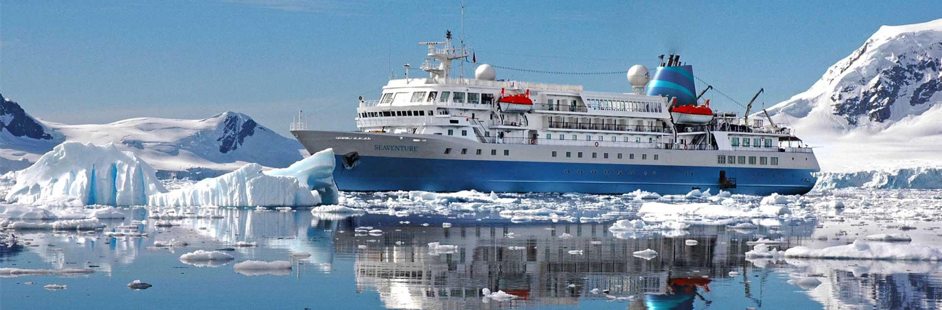 Expeditionskreuzfahrten ins Eis auf MS Seaventure mit Reiseart erleben