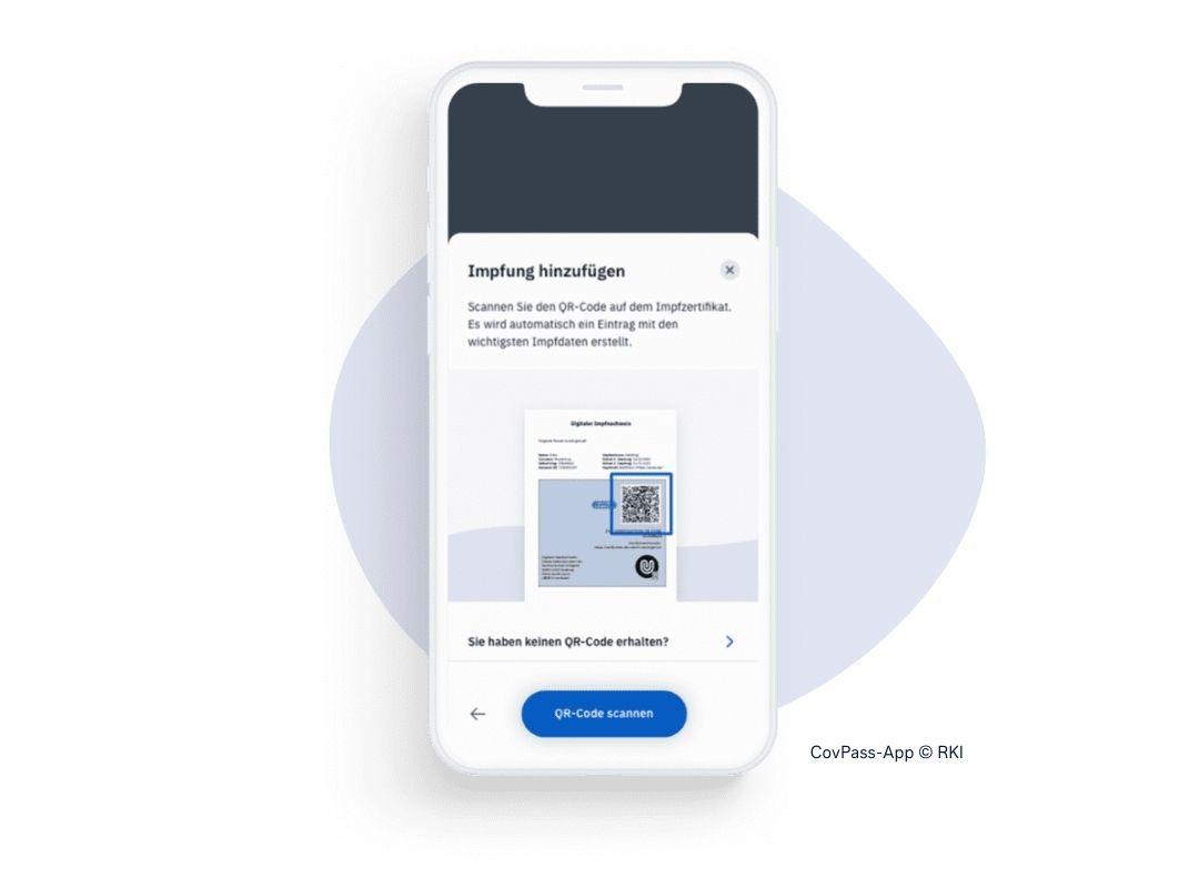 Screen CovPass-App