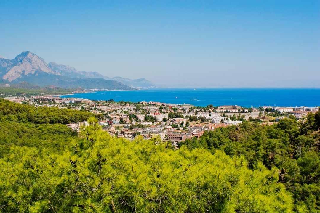 Kemer: Urlaubsort an der türkischen Riviera