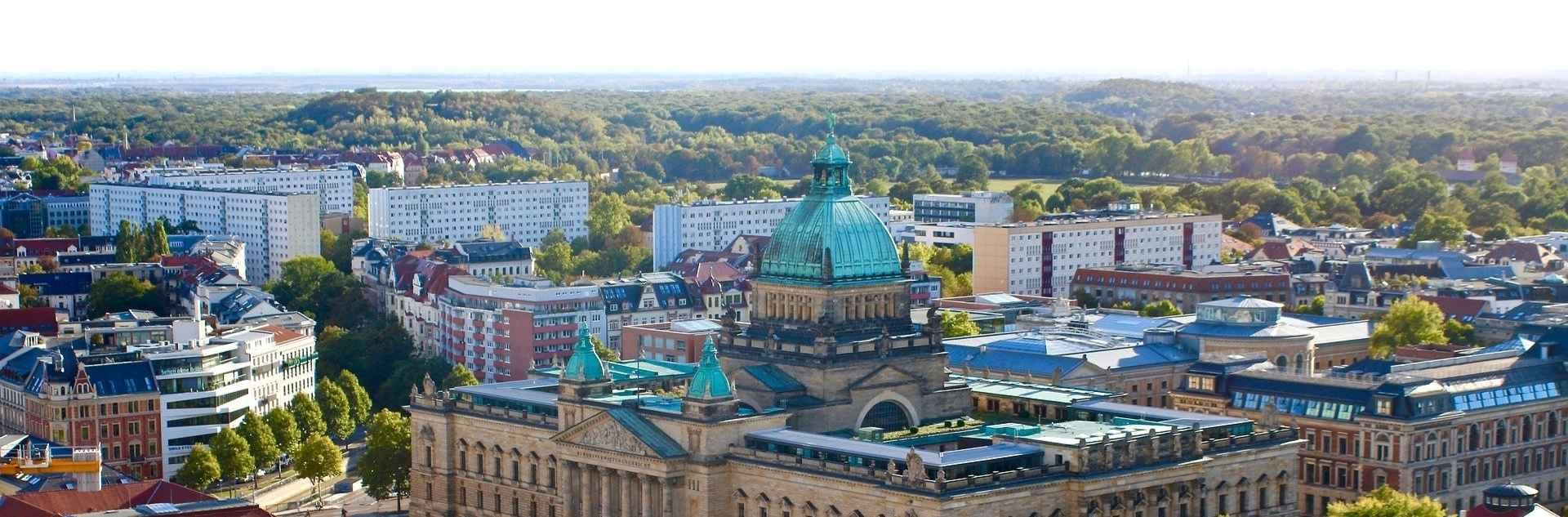 Leipzig Stadtansicht