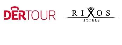 Logo DERTOUR und Rixos Hotels