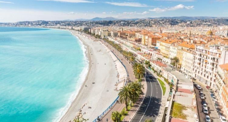 Nizza Strandpromenade