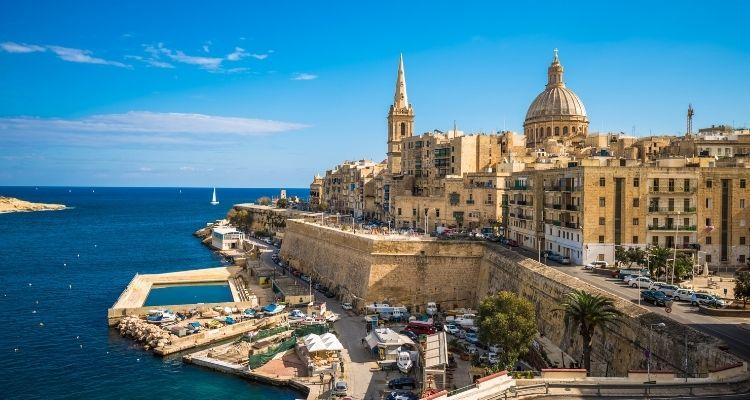 Valletta Ansicht der Stadt