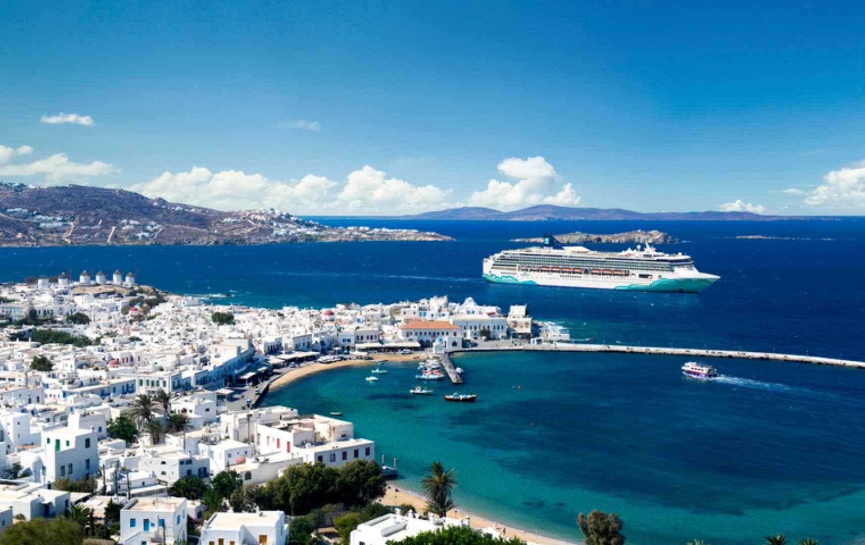 Griechische Inseln ab Athen_ Santorin, Mykonos und Rhodos