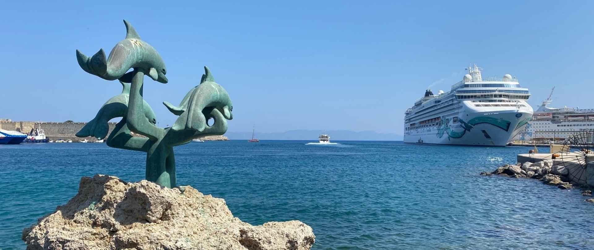 Norwegian Cruise Line auf Rhodos