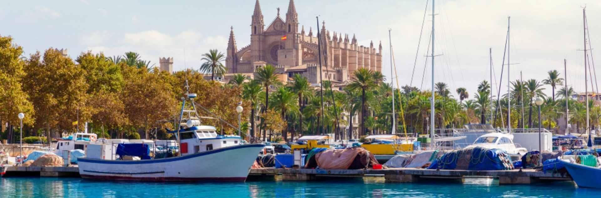 Palma de Mallorca und das Mittelmeer mit Mein Schiff