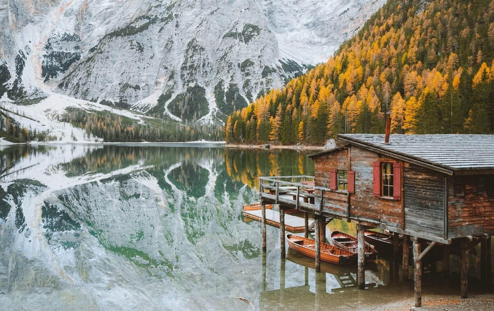 Bergsee in Trentino und Südtirol