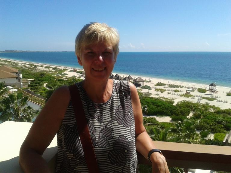Renate Knospe vom Reisebüro Reeg in Mexiko