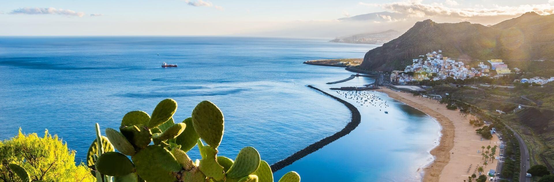Meer und Strand von Teneriffa