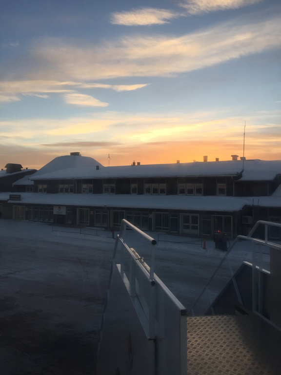 Lappland Arvidsjaur Flughafen