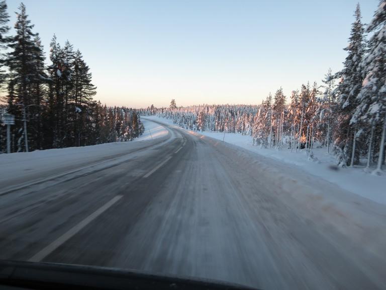 Lappland Winterlandschaft 1
