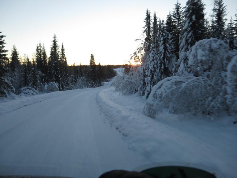 Lappland Winterlandschaft 2