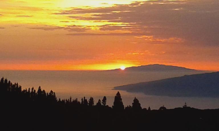 Sonnenuntergang am Teide, Teneriffa