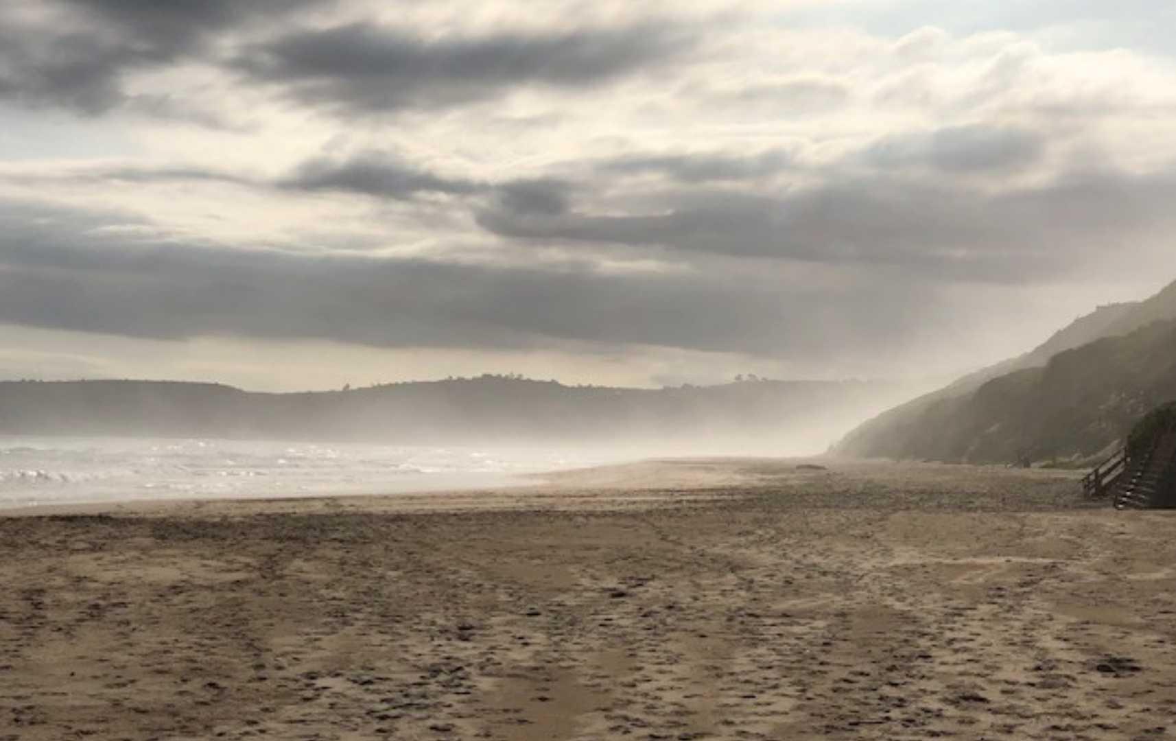 Meer und Strand an der Gartenroute-Südafrika