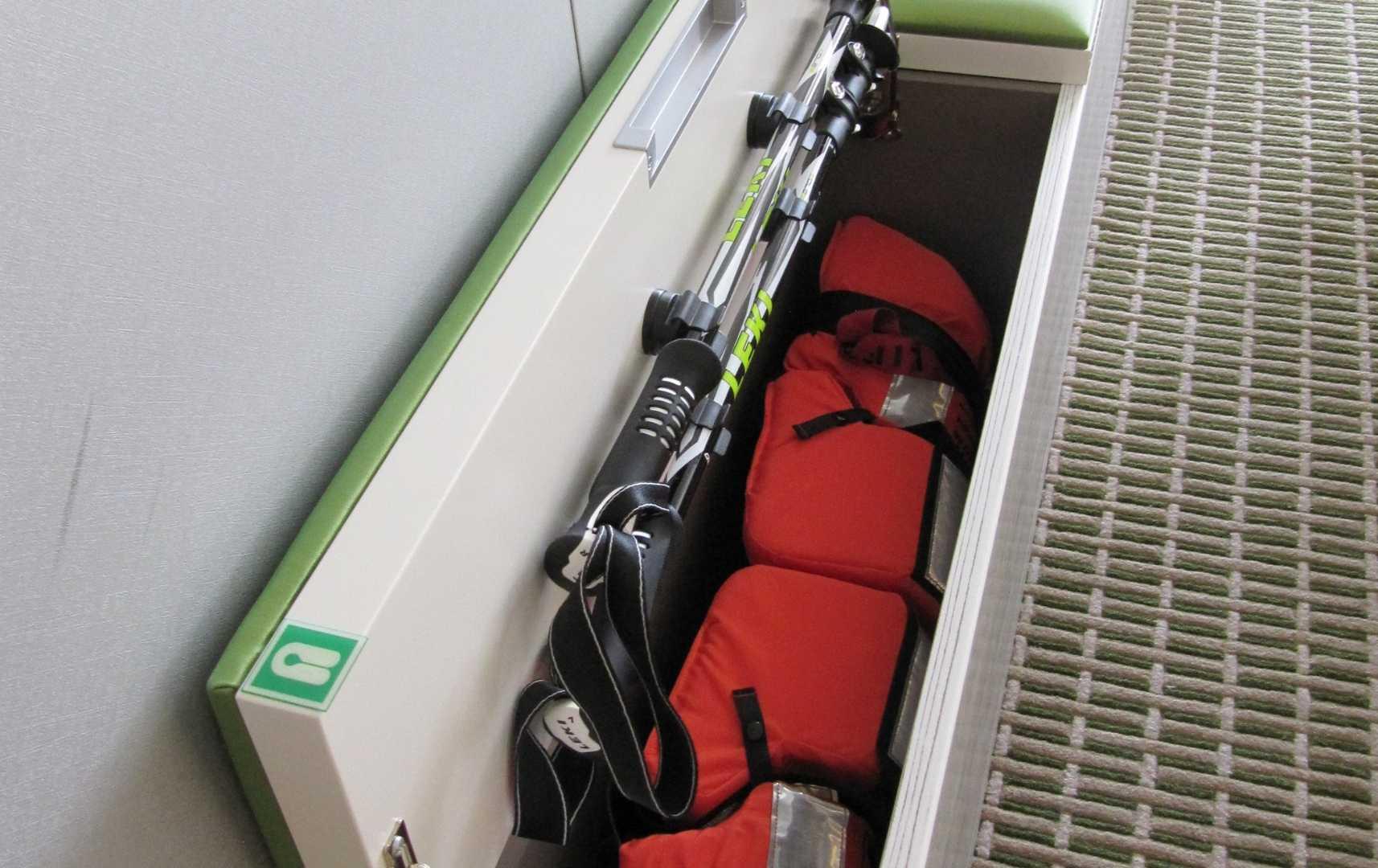 Ausrüstung in der Suite - Hanseatic Nature