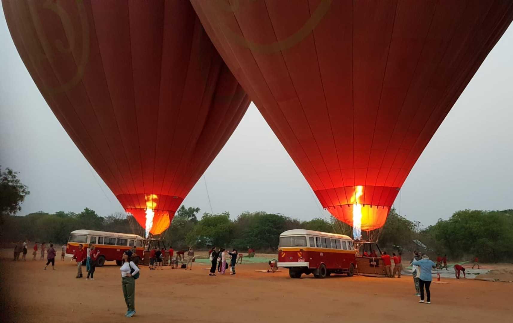 Ballons - Myanmar