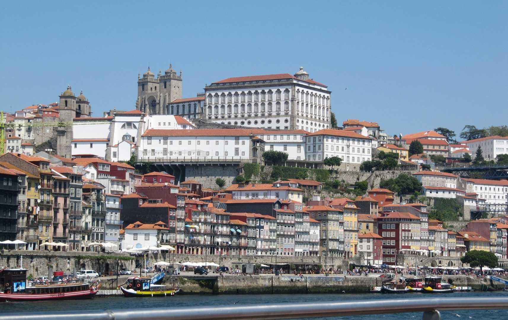 Blick auf Porto - Douro