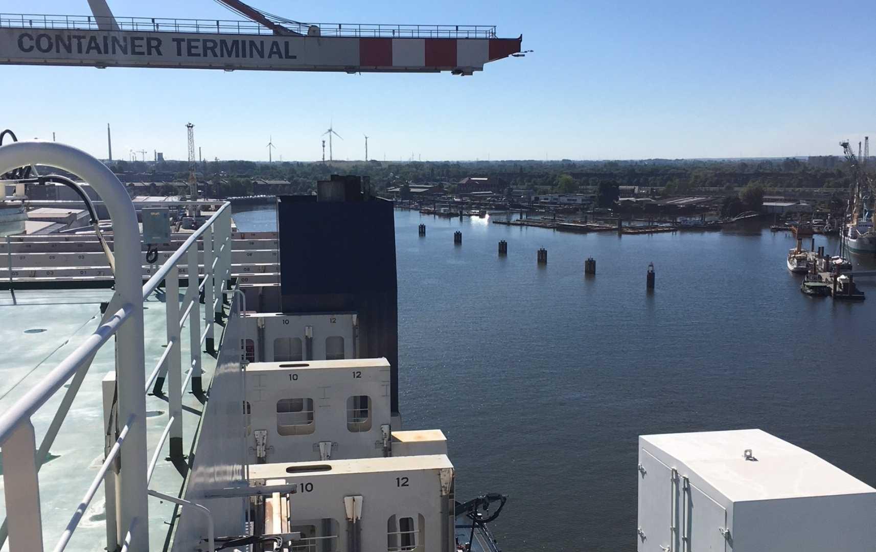 Container Terminal - Atlantic Sky